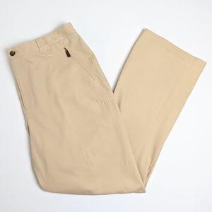 Ralph Lauren tan khaki pants jeans women's size 16